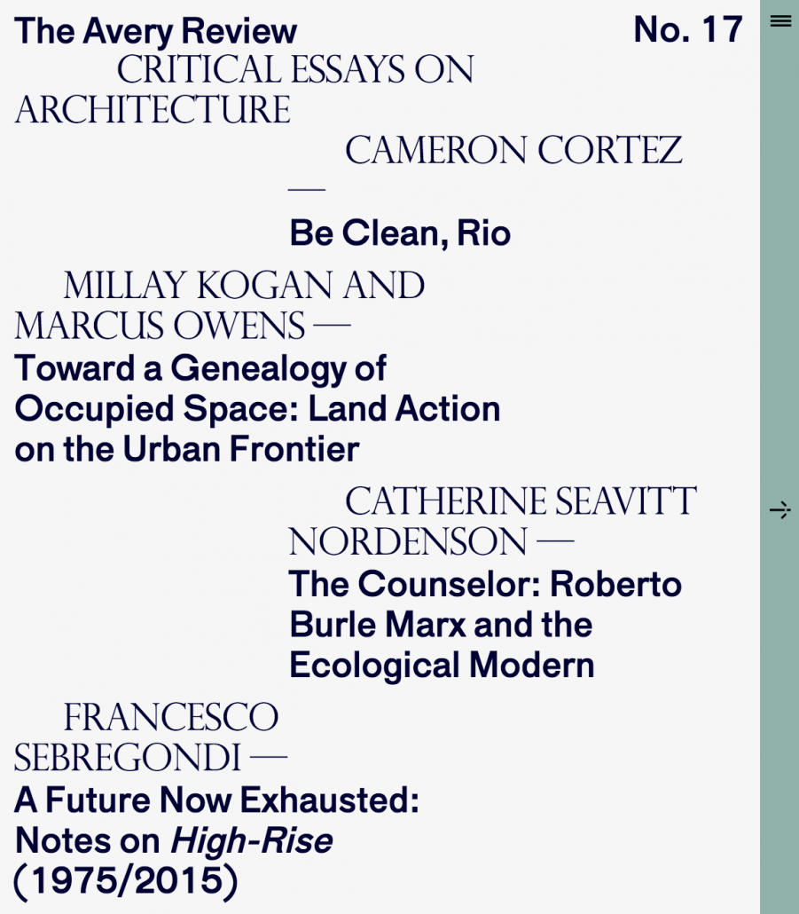 """a future now exhausted essay the avery review issue 17 sep 2016 """""""